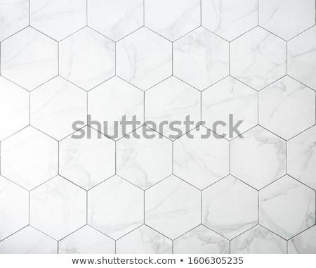 bleu · céramique · tuiles · texture · peuvent - photo stock © simply