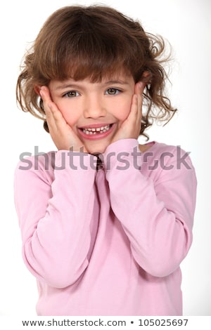 delightful little girl panic-stricken Stock photo © photography33