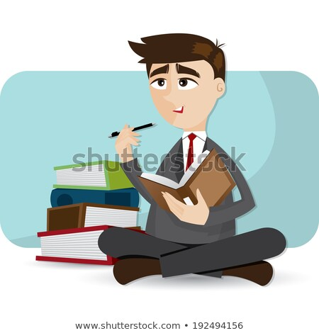 Businessman writing in diary Stock photo © photography33