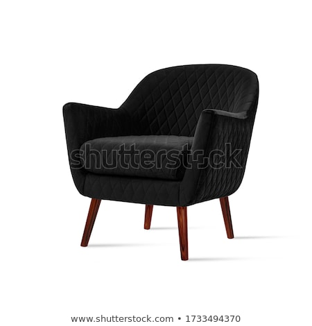 Black armchair Stock photo © designsstock