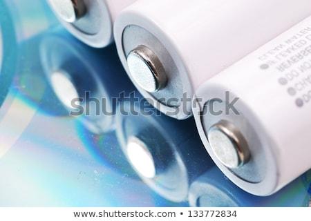 Bateria natureza morta tamanho consumidor Foto stock © 350jb