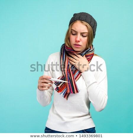 kadın · baş · ağrısı · beyaz · el · yüz · kadın - stok fotoğraf © wavebreak_media