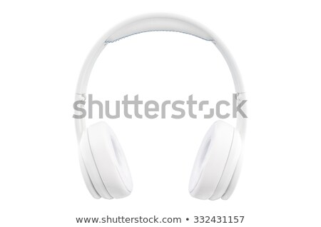 hangfalak · fejhallgató · fehér · zene · technológia · csoport - stock fotó © shutswis