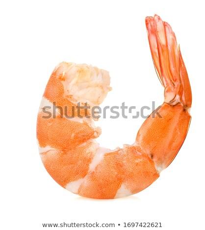 Single shrimps Stock photo © Masha