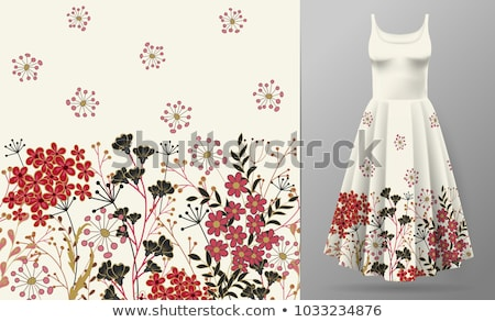 decorative floral pattern border frame stock photo © creative_stock