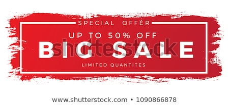clearance sale red banner Stock photo © marinini