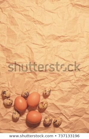 celebração · páscoa · ovo · comida · vinho · férias - foto stock © marinini