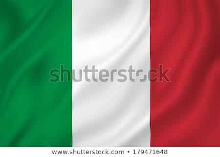 Weefsel textuur vlag Italië Blauw boeg Stockfoto © maxmitzu