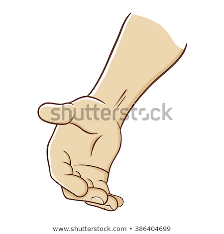 Cartoon Reaching Hand Stock photo © indiwarm