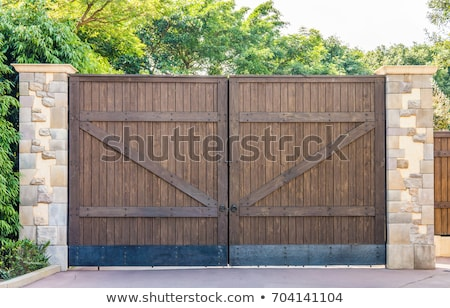 referéndum · puerta · gibraltar · arco · pared · edificio - foto stock © mikko