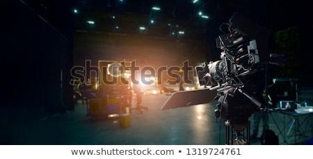 Film üzlet doboz iroda eladó bevásárlószatyor Stock fotó © Lightsource