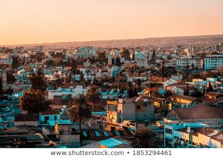 Mosquée Chypre ville utilisé musulmans Photo stock © Snapshot