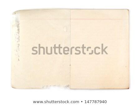 vieux · classique · livre · rouge - photo stock © kyolshin
