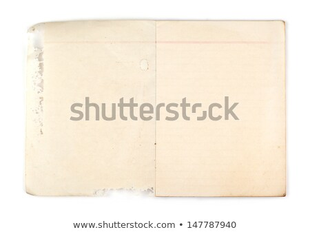 Oud boek haveloos scheur Stockfoto © kyolshin
