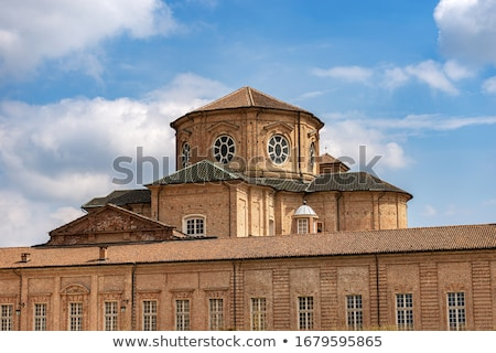 Brick church in Venaria Reale, Italy. Stock photo © rglinsky77