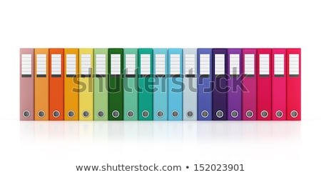 suspendu · fichier · dossier · importante · bureau · informations - photo stock © creisinger