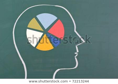 Psychology Chalk Drawing Stock photo © kbuntu