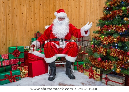 Santa Claus welcoming to the North Pole Stock photo © HASLOO