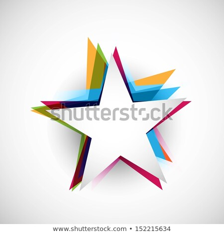 Abstract stars colorful stylish design whit background ...