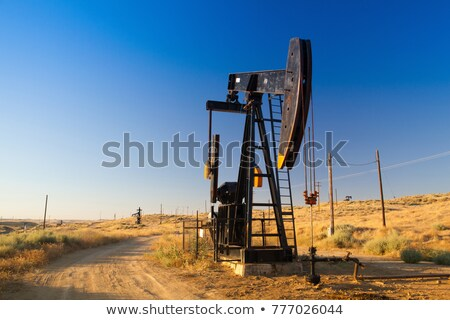 Oil pump in Nevada desert Stock photo © CaptureLight