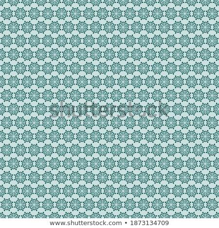 Abstract naadloos sneeuwvlok vector ontwerp Blauw Stockfoto © tuulijumala