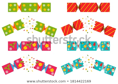 Isolated Christmas Cracker Stock photo © jenbray
