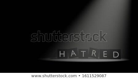 holofote · grande · vermelho · escuro · bomba · bagunça - foto stock © 3mc