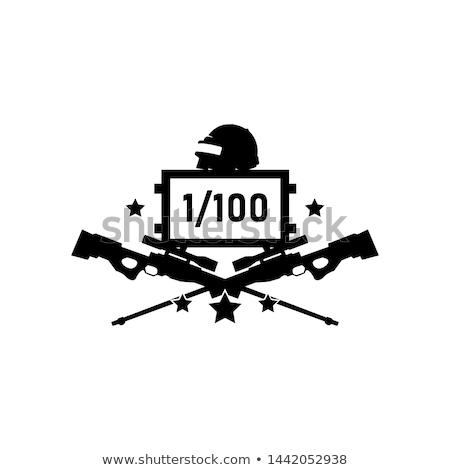 狙撃兵 作業 軍事 紛争 男 スポーツ ストックフォト © OleksandrO