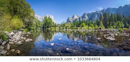 山 ストリーム 石 美しい 公園 クロアチア ストックフォト © smuki