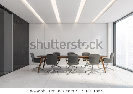 Empty Presentation Conference Room Stock photo © feverpitch