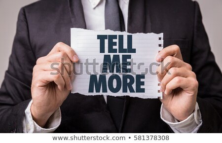 Tell me the secret !  Stock photo © stockyimages