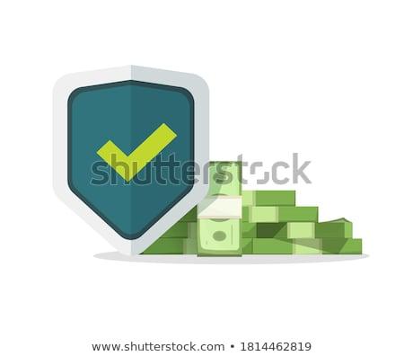 депозит страхования рук монетами белый бизнеса Сток-фото © fantazista