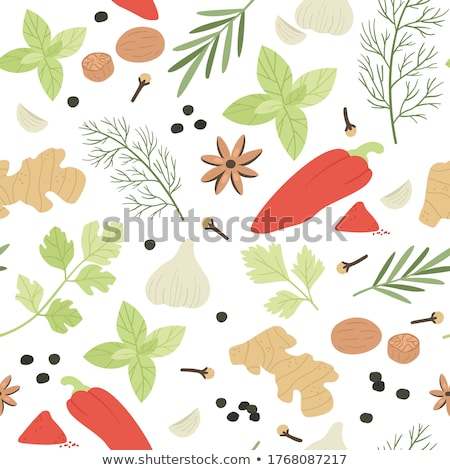 Tempero comida cor semente topo Foto stock © vinodpillai