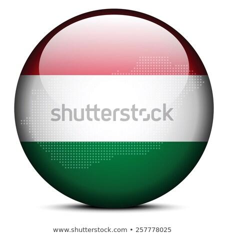 Венгрия · политический · карта · Будапешт · важный - Сток-фото © istanbul2009