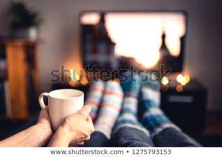 Coffee movie. Stock photo © Fisher