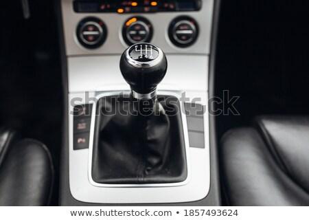 Acelerar preto controlar consolá azul backlight Foto stock © tashatuvango