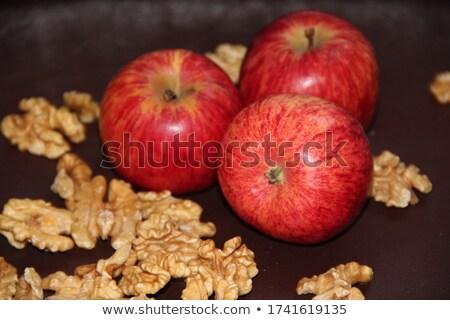 appels · noten · Rood · cachou · walnoot · amandel - stockfoto © zerbor