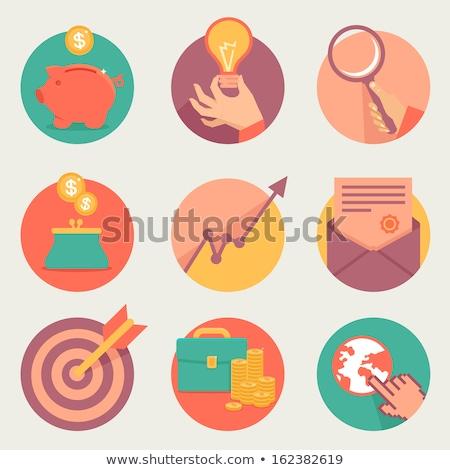 spaarvarken · e-mail · symbool · teken · web · mail - stockfoto © devon