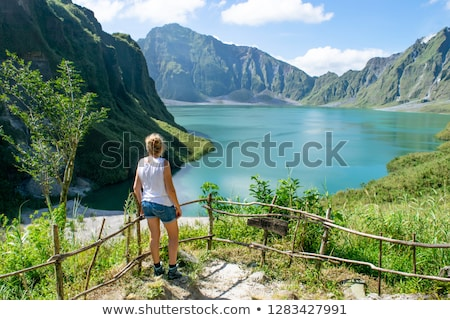 mount pinatubo crater stock photo © lorenzodelacosta