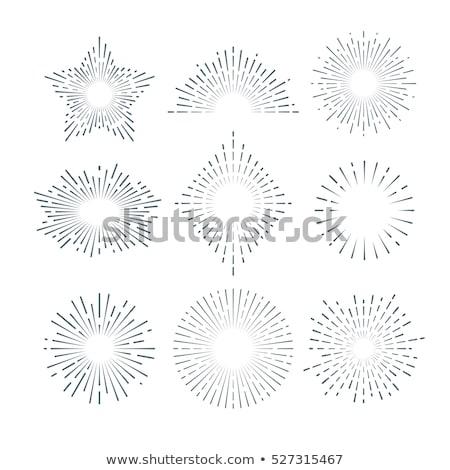 dibujado · a · mano · colección · hecho · a · mano · cerámica · vajilla · estantería - foto stock © netkov1