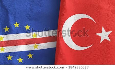república · bandeira · secar · terra · terreno · textura - foto stock © istanbul2009