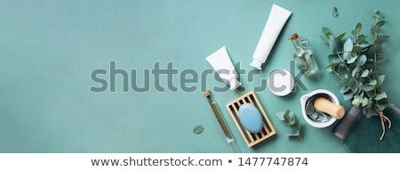üvegek egészség szépségipari termékek kozmetikai test haj Stock fotó © shutswis