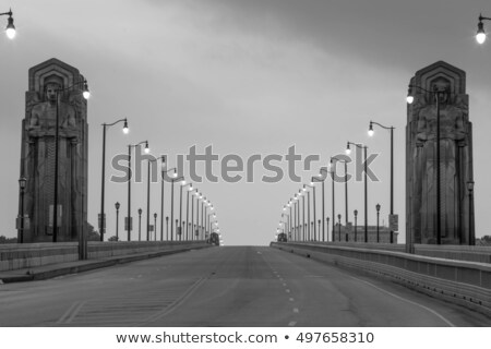 Bridges in Cleveland Stock photo © benkrut
