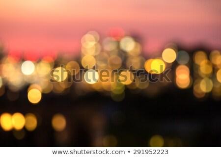 Photo blur bokeh night lights Kiev. Stock photo © bezikus