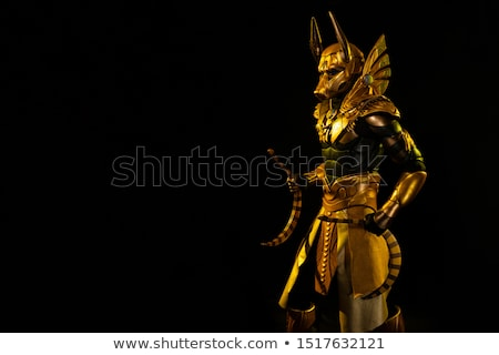 egyptian mask stock photo © bigalbaloo