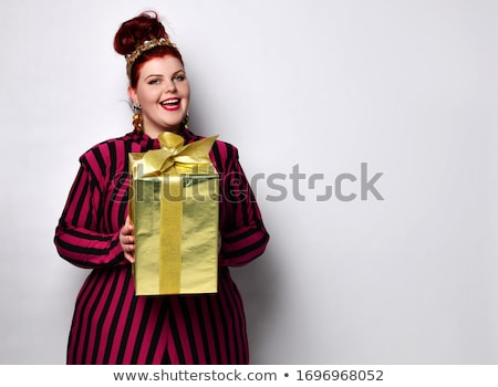 The women's body with a bow tie Stock photo © master1305