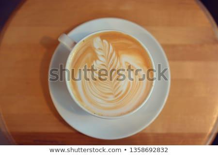 Wanilia parowiec gałka muszkatołowa cynamonu pić mleka Zdjęcia stock © Digifoodstock