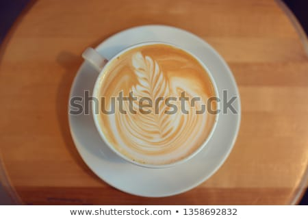 Vainilla buque de vapor nuez moscada canela beber leche Foto stock © Digifoodstock