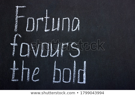 invest handwritten by white chalk on a blackboard stock photo © tashatuvango