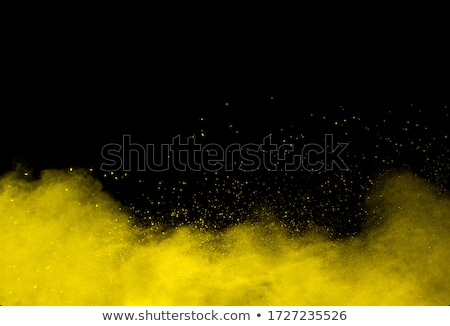Сток-фото: аннотация · желтый · частицы · Круги · воды